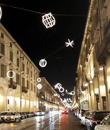 Luci d'artista a Torino: Planetario 3