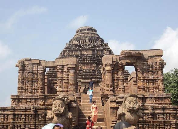 Tempio di Konarak o Konark tra i beni patrimonio mondiale dell'UNESCO