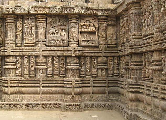 Decorazioni del Tempio del Sole di Konarak