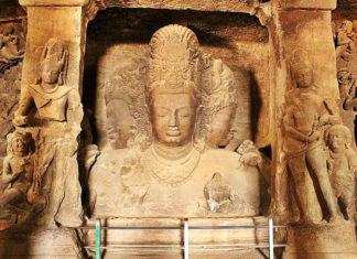 Le Grotte di Elephanta in India