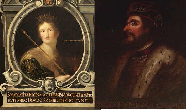 Malcolm III e Margherita e il popolo scozzese