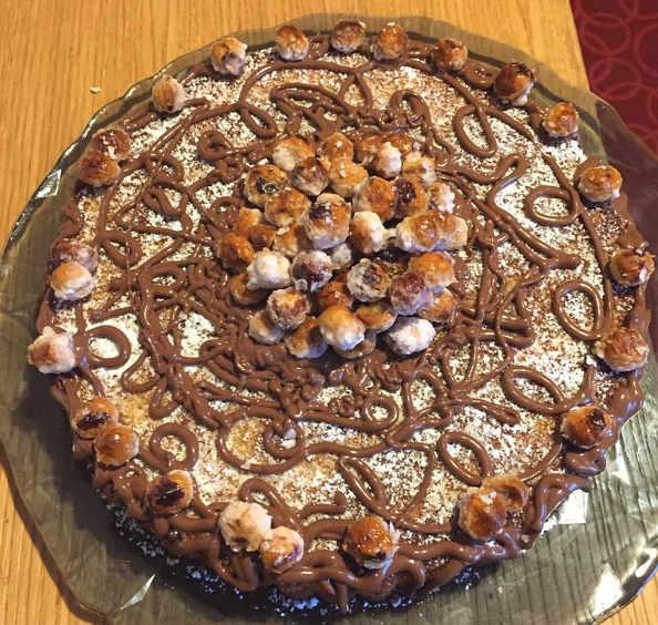 La Torta (o Crostata morbida) con ricotta nocciole e noci senza glutine