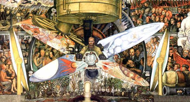 L'uomo controllore dell'universo (1934) Diego Rivera