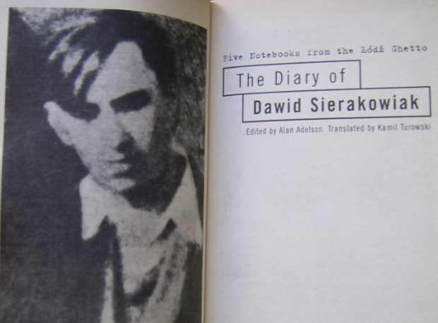 I diari dell'Olocausto, Shoah: Dawid Sierakowiak