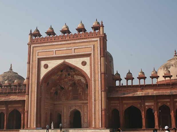 La grande moschea Jama Masjid
