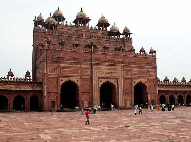 Fatehpur Sikri: la grande moschea Jama Masjid  9