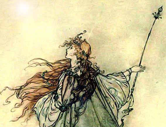 Brigit, dea della luce,