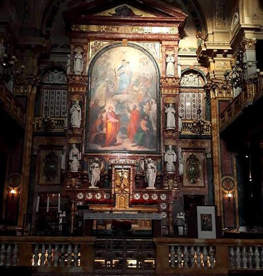 Interno della Basilica e Santuario di Maria Ausiliatrice a Torino 2