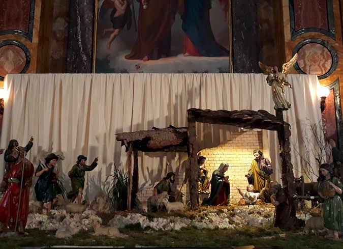 La mostra di presepi nel Santuario di Maria Ausiliatrice 2