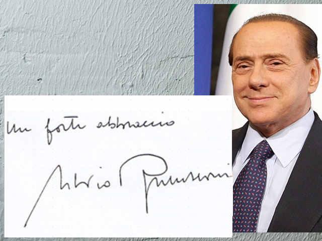 La sindrome di Hubris nella scrittura: Silvio Berlusconi
