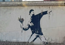 Murales palestinesi, Banksy e gli altri