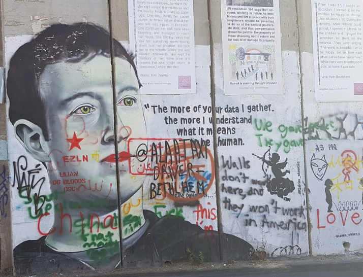 Murales in Palestina 4