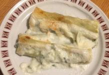 Ricetta Cannelloni senza Glutine ricotta e spinaci freschi