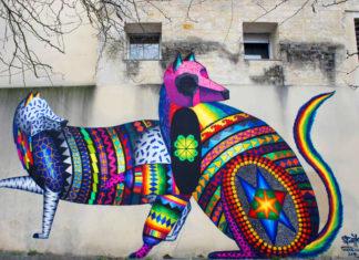 Spaik, Israel Guerra Romero il folklore del Messico nei murales