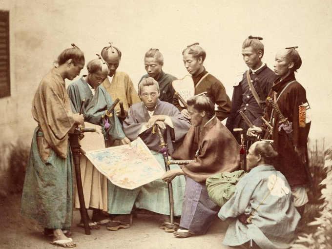 La Guerra di Boshin: Samurai del clan Satsuma