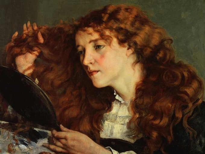 Jo la belle irlandaise di Gustave Courbet Joanna Hiffernan 2