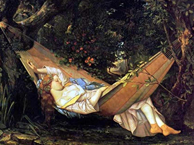 Gustave Courbet L'amaca