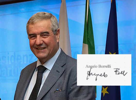 La Grafia di Angelo Borrelli