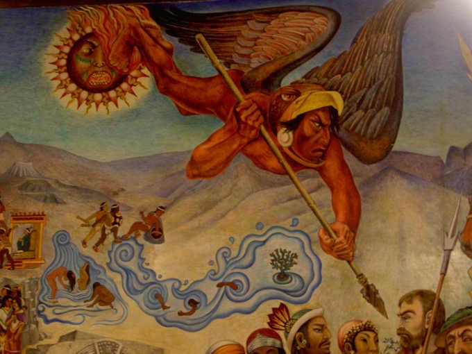 Gli Aztechi e la profezia di Huitzilopochtli