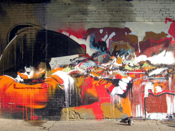Conor Harrington, dipingere fra arte classica, street art e hip-hop