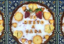 Crostata IO RESTO A CASA con ricotta siciliana