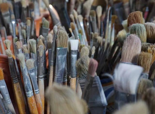 Pennelli per dipingere di mangusta