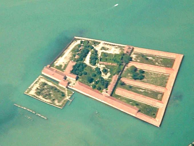 La quarantena e l'isola di Santa Maria di Nazareth o Lazzaretto Vecchio