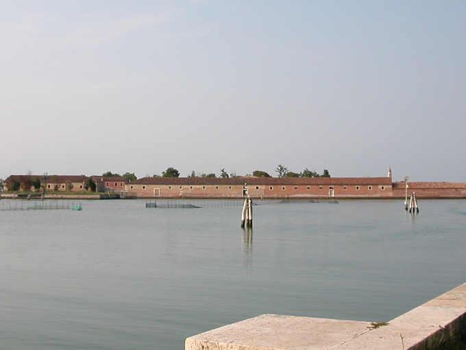 Isola del Lazzaretto Vecchio a Venezia