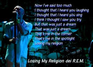 Losing My Religion dei R.E.M.