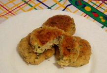 Polpette di zucchine e ricotta senza uova cotte in padella