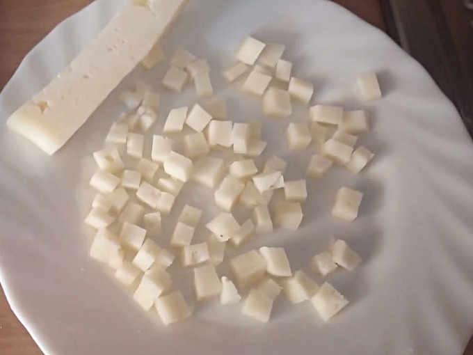 Ingredienti Asiago tagliato a toccheti