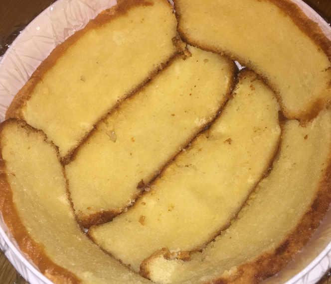Bagna nello Zuccotto Mimosa senza glutine con gelato all'ananas