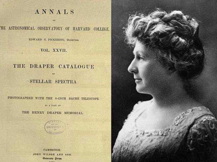 Annie Jump Cannon e la classificazione delle stelle