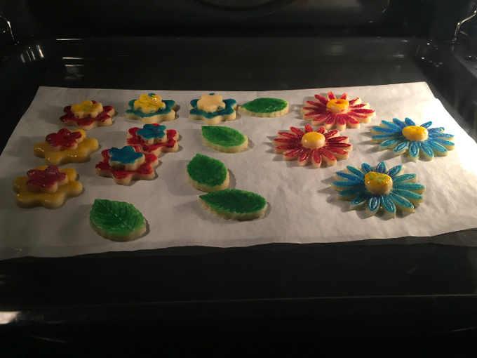 Ricetta dei Biscotti di pasta frolla colorati senza glutine