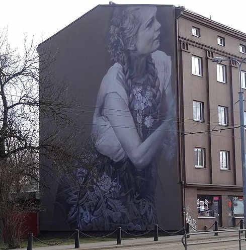Guido van Helten murales gigante