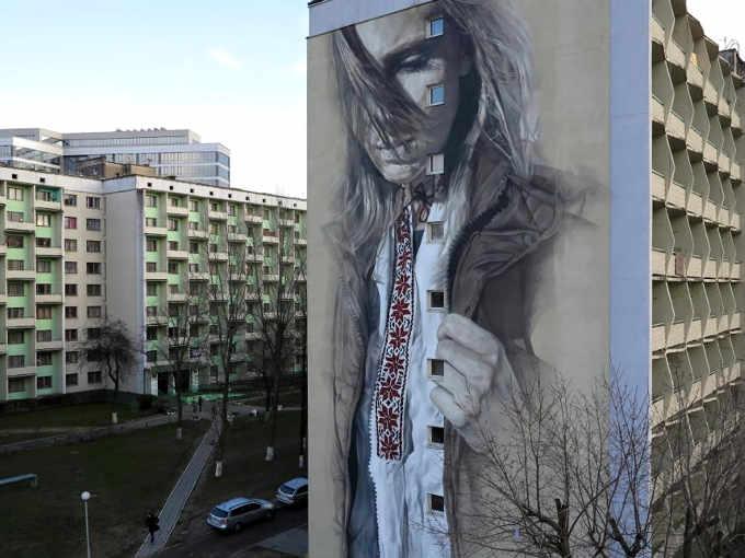 Murales in Minsk Bielorussia