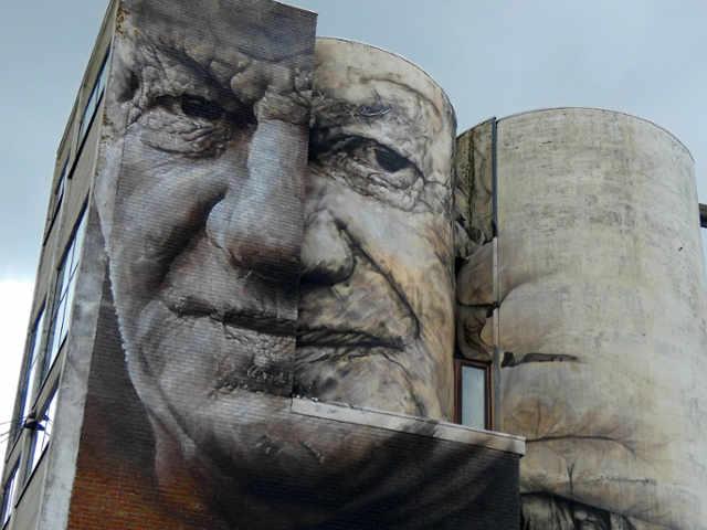 Murales a Ostenda Belgio