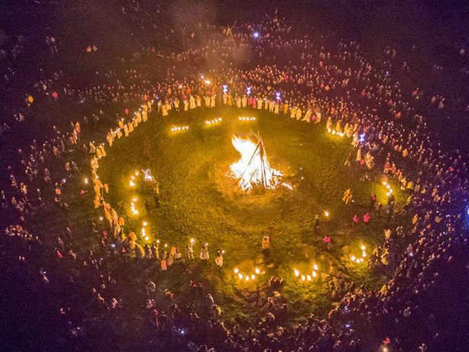 Festa di Bealtaine in Irlanda