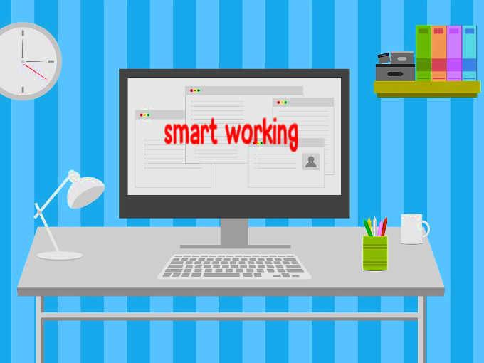 Le parole più usate: smart working