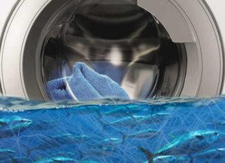 Quanta microplastica produce una lavatrice?