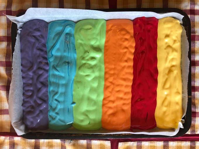 Coloranti in gel per Rotolo Arcobaleno