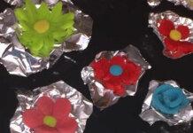 Biscotti colorati di frolla con albume (o Bianca Frolla) senza glutine