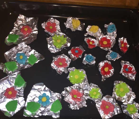 Preparazione per i Biscotti  colorati di frolla con albume (o Bianca Frolla) senza glutine