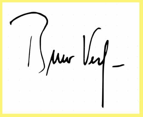 La firma di Bruno Vespa