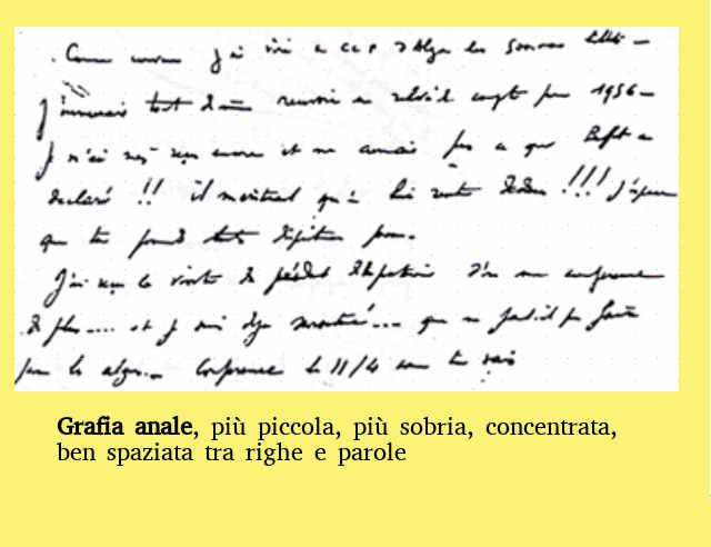 La scrittura durante e dopo il Covid19: La Grafia anale