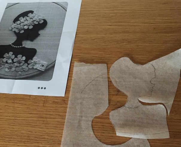 Foglio di carta forno e disegno