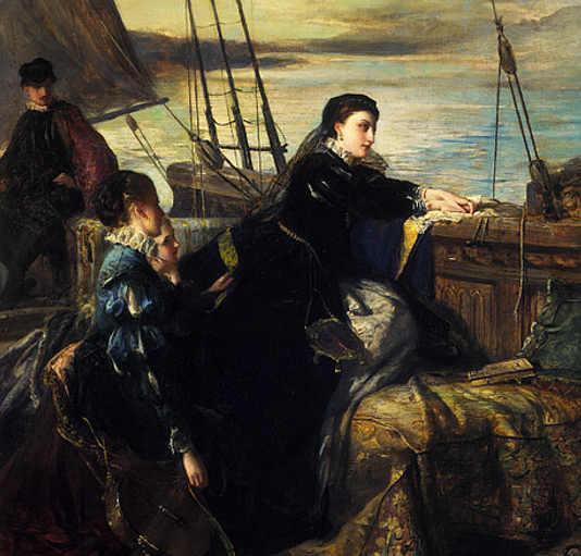 L'addio di Maria (Queen of Scots) alla Francia di Robert Herdman