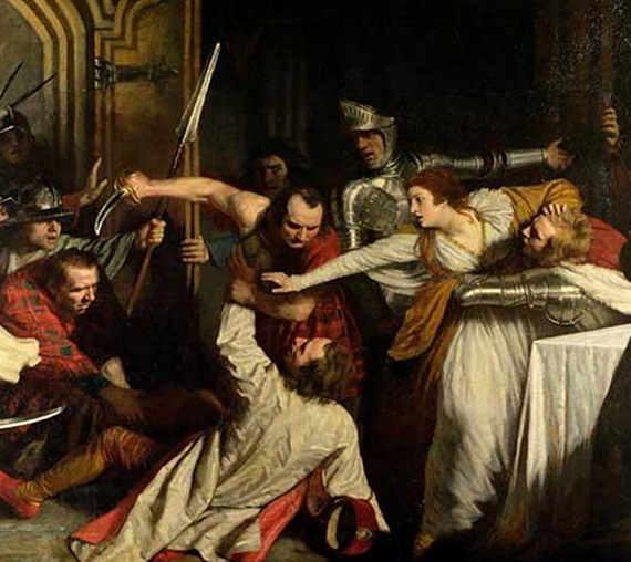 L'omicidio di Davide Rizzio di William Allan