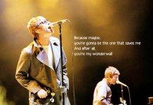 25 anni di Wonderwall degli Oasis
