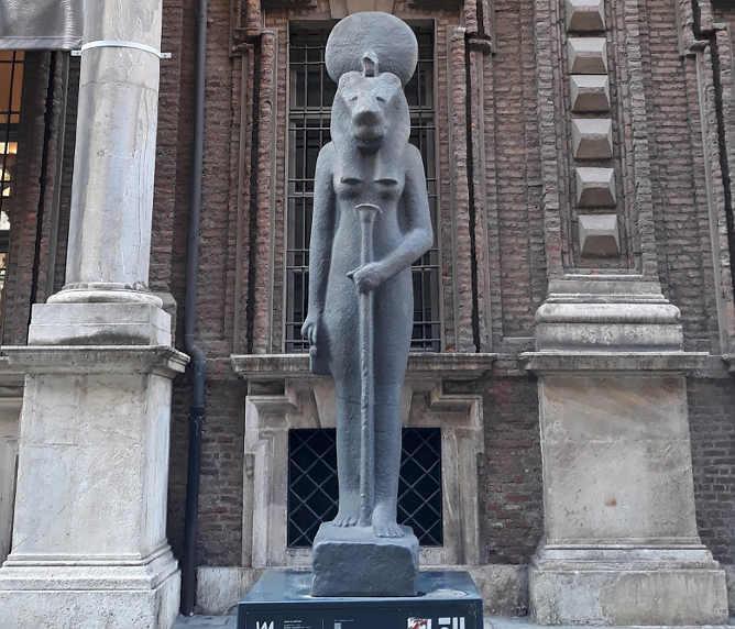 Ingresso Museo Egizio a Torino